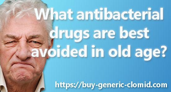 Antibiotics in the elderly