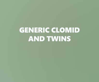Generic clomid and Twins